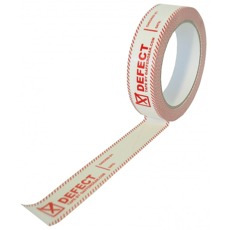 PVC Defect tape 25mm x 66m