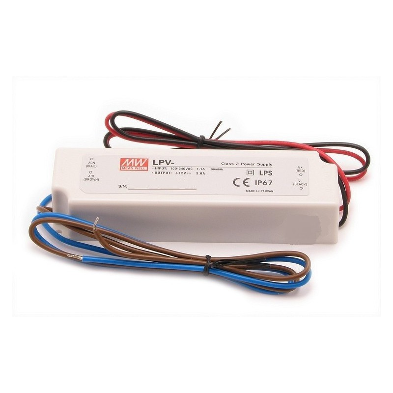 MW - LPV-20-12 Power Supply