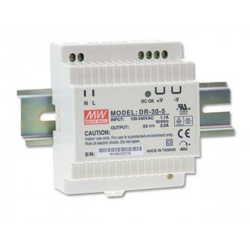 MW- DR-30-12 power supply