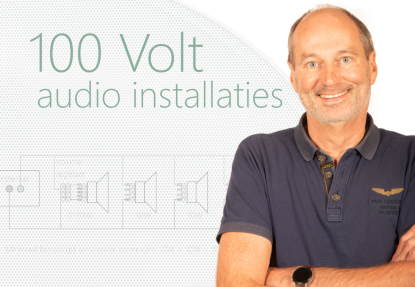 100 Volt audio-installaties