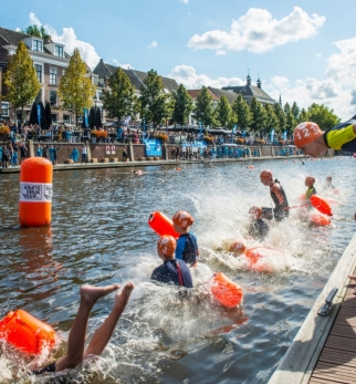 Zero Ohm technologie bij Swim to Fight Cancer.